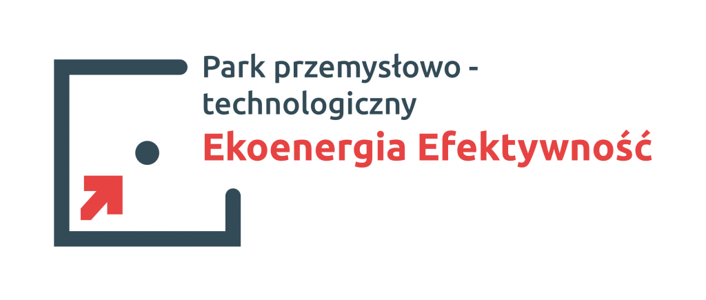 """Logo parku przemysłowego """"Efektywność"""""""