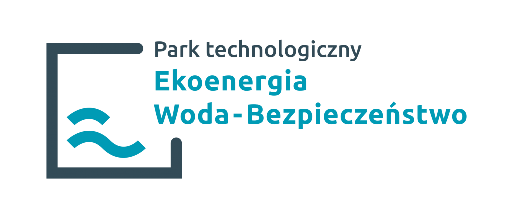 """Logo parku przemysłowego """"Woda-Bezpieczeństwo"""""""