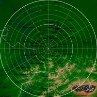 Obraz z radaru